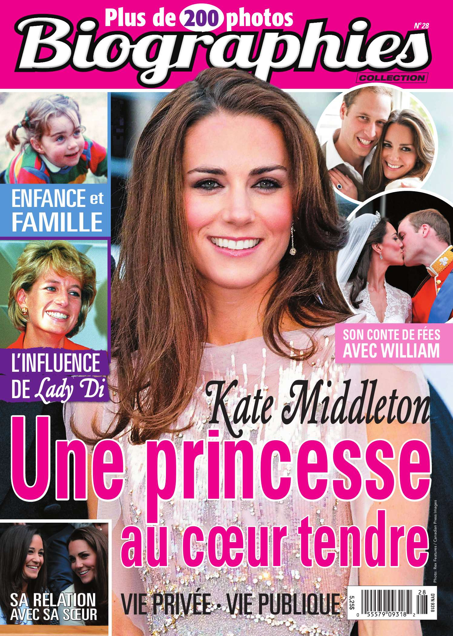 Couverture BIOGRAPHIES 0028 magenligne.com Kate Middleton