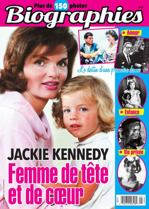 Couverture Biographies 0021 magenligne.com Jackie Kennedy