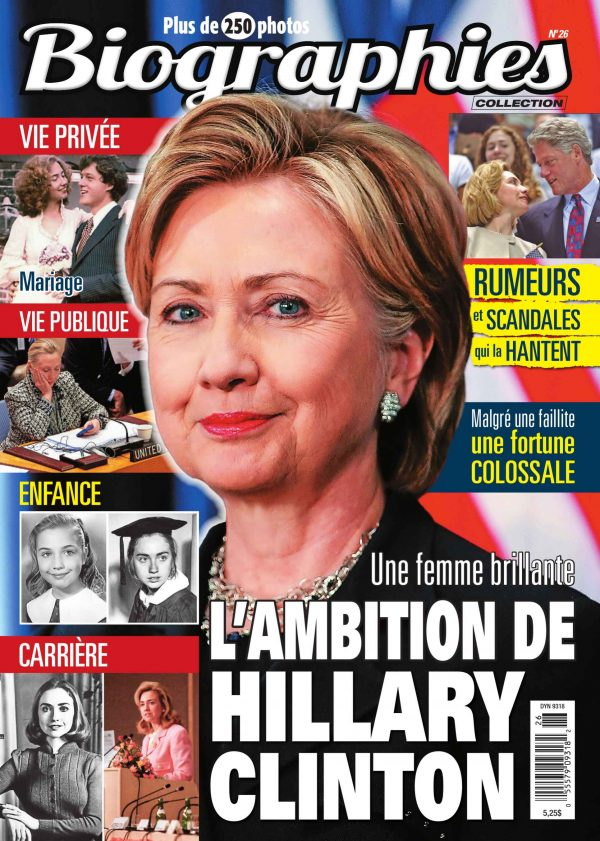 Couverture Biographies 0026 magenligne.com Hillary Clinton