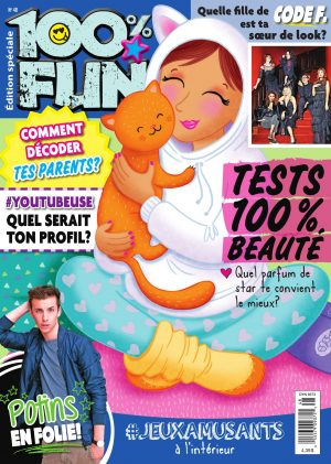Couverture 100% FUN 0048 magenligne.com Tests Beauté