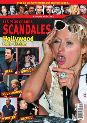 Couverture Hors-Série 0014 magenligne.com Scandales Hollywood